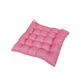 وسادة كرسي مربع  ناعمة ومريحة, كاروهات موديل 600052