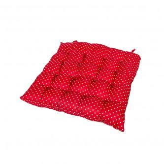 وسادة كرسي مربع  ناعمة ومريحة, كاروهات موديل 600026