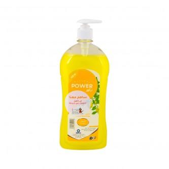 صابون سائل للأيدي باور  برائحة الليمون  1.0 لتر