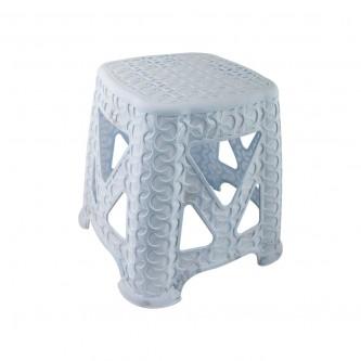 كرسي بلاستيك  (مقعد) لون ابيض E-601