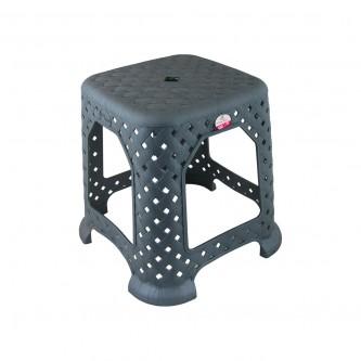كرسي بلاستيك  (مقعد) لون رصاصي  رقم AK308
