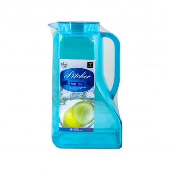 جاك مفرد بلاستيك اكرلك شفاف بيد 2200مل لون ازرقPN442