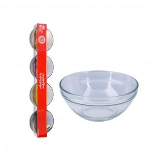 زبدية زجاج طقم  4 حبة رقم MAS 8331