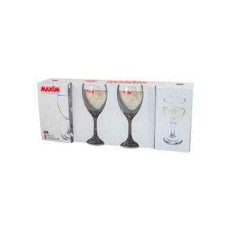 كاسات عصير زجاج طقم 4 حبة رقم MAS 8313