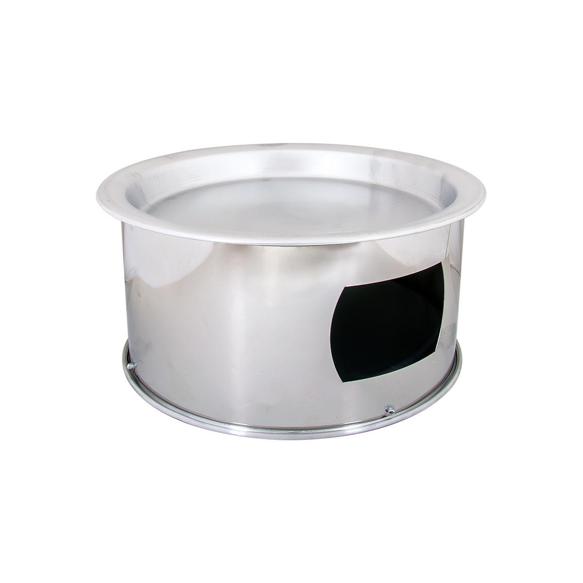 سخان كنافة استيل مقاس 32 سم  لون فضي رقم CC-57+CO-86