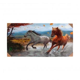 لوحة فنية جدارية لديكور المنزل مقاس 120 * 60  رقم YM-23087