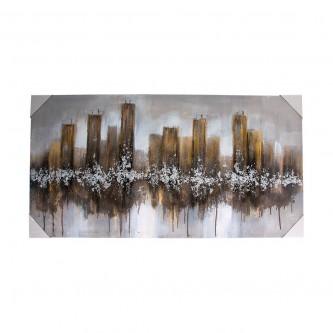 لوحة فنية جدارية لديكور المنزل مقاس 120 * 60  رقم YM-23083