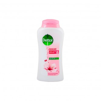ديتول غسول الجسم للعناية بالبشرة مضاد للبكتيريا سعة 250 مل - برائحة الورد وزهر الساكورا