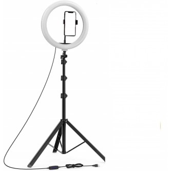 حامل  جوال مع مصباح حلقي قابل للتعتيم  رقم CXB-300