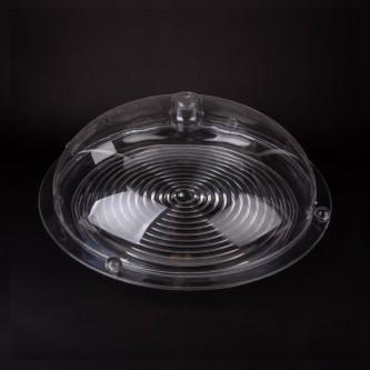 صينية تقديم الكيك والحلا دائري شفاف رقم ST-208-LC