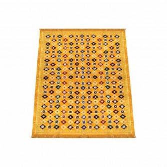 فرشة رحلات  مقاس  2 * 3 متر -لون اصفر  رقم 1035