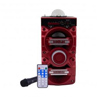 سماعة مكبر صوت TIT بلوتوث لون احمر موديل TS-737