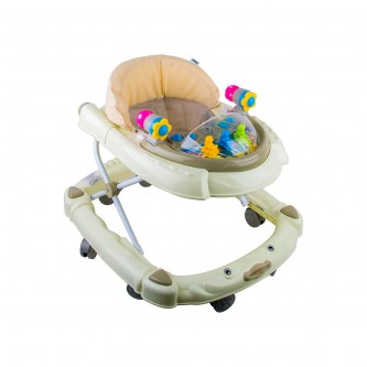 مشاية اطفال بعجلات متحركة لون لولوي  موديل - BW05