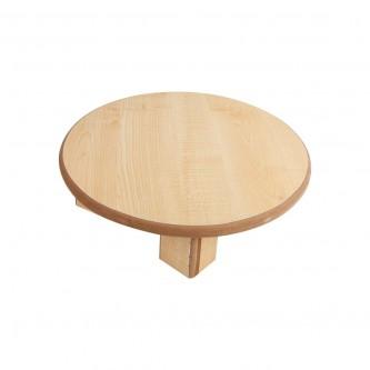 طاولة خشبية لفرد العجين مقاس 45 سم لون بيج رقم 80000018