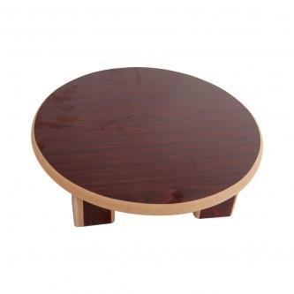 طاولة خشبية لفرد العجين مقاس 45 سم لون بني رقم 80000022