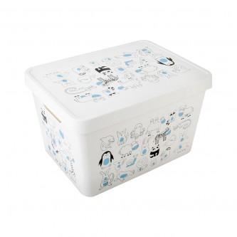 صندوق تخزين بلاستيك متعدد الاستخدامات موديل G-643-A
