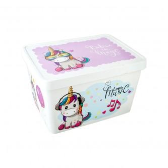صندوق تخزين بلاستيك متعدد الاستخدامات موديل G-643-U