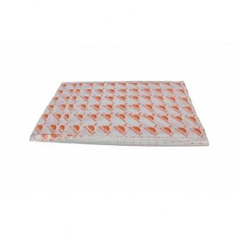 ورق ساندوتش مطبوع على الورقه شاورما دجاج , 300 ورقة