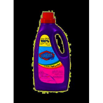 مزيل البقع كلوركس للملابس الملونه برائحة الزهور الألوان 1.8 لتر