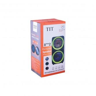 سماعة مكبر صوت TIT بلوتوث الوان متعددة موديل TS-802