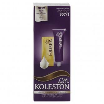صبغة كوليستون لتلوين الشعر 307/1 مع بديل الزيت , اشقر متوسط رمادي