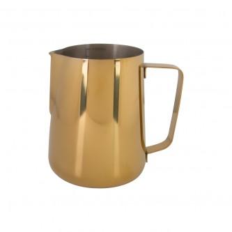 لبانة استيل لون ذهبي سعة 1500مل رقم 0500824