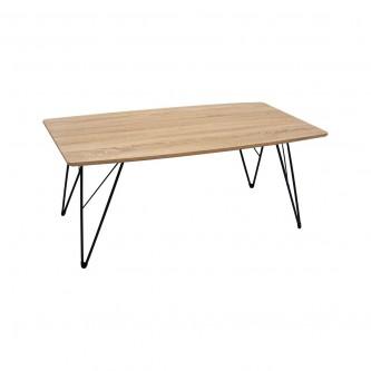 طاولة تقديم وخدمة خشب مستطيل لون بني فاتح  رقم 611