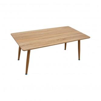 طاولة تقديم وخدمة خشب مستطيل لون بني فاتح  رقم 616