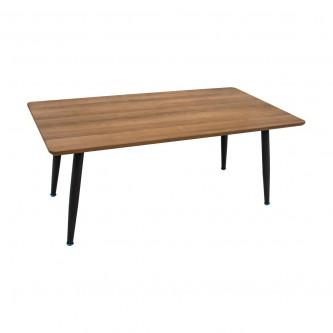 طاولة تقديم وخدمة خشب مستطيل لون بني رقم 616