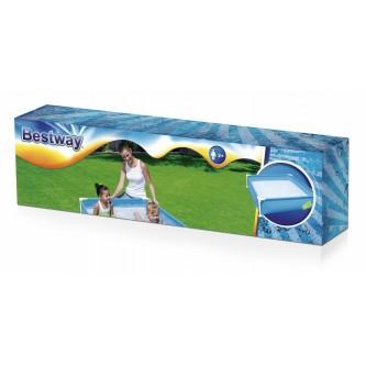 بركة سباحة بإطار معدن مدور الأضلاع من بيست واي موديل 56217