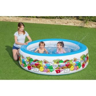 حوض سباحة دائري الشكل قابل للنفخ من بيست واي رقم 51122