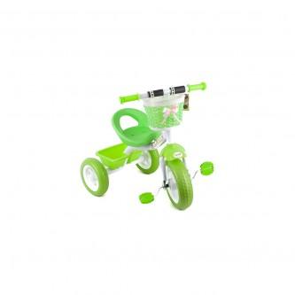دراجة اطفال ثلاث عجلات - مقعد واحد - لون اخضر  رقم 0818