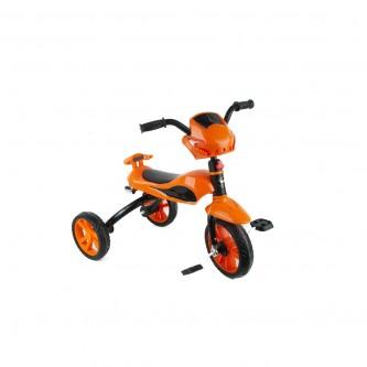 دراجة اطفال ثلاث عجلات - مقعد واحد - لون برتقالي رقم 818