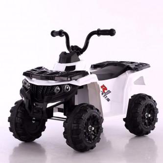 دباب كهربائي للاطفال  4 عجلات لون ابيض موديل BRJ-3201
