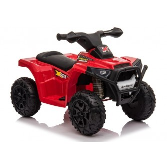 دباب كهربائي للاطفال  4 عجلات لون احمر موديل XH116