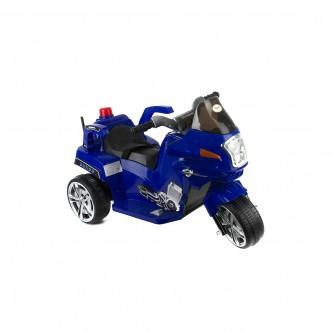 دباب كهربائي للاطفال  3 عجلات لون ازرق موديل QLS-9188