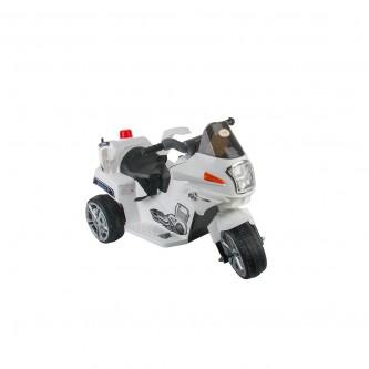 دباب كهربائي للاطفال  3 عجلات لون ابيض موديل QLS-9188