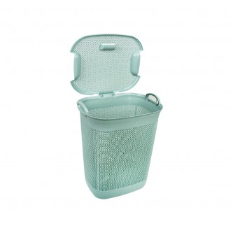 سله غسيل بلاستيك مستطيل بغطاء رقم 2601622