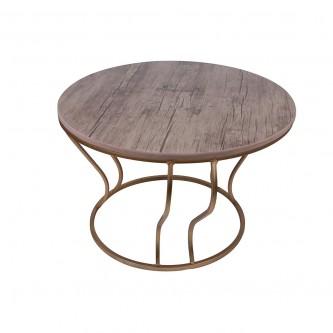 طقم طاولات خشب دائرية 5 قطعة موديل 1903