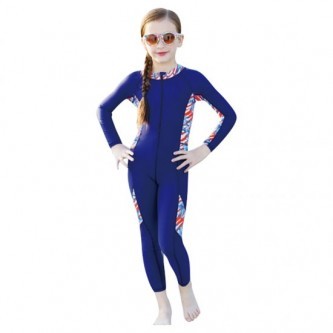 سويم لايف - بدلة سباحة للأطفال بقبعة مقاس  L