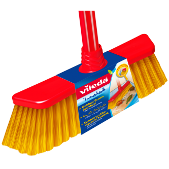 مكنسة تنظيف ارضيات يدوية بمقبض طويل من فيليدا