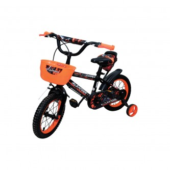 دراجة اطفال حديد مقاس 14 إنش الوان متعددة  موديل RA-C14022