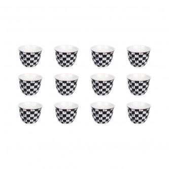 طقم فناجين قهوة عربي 12 فنجان , رقم 775381
