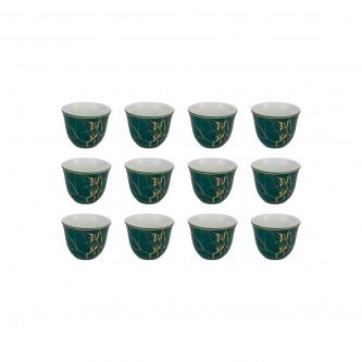 طقم فناجين قهوة عربي 12 فنجان , رقم 554729