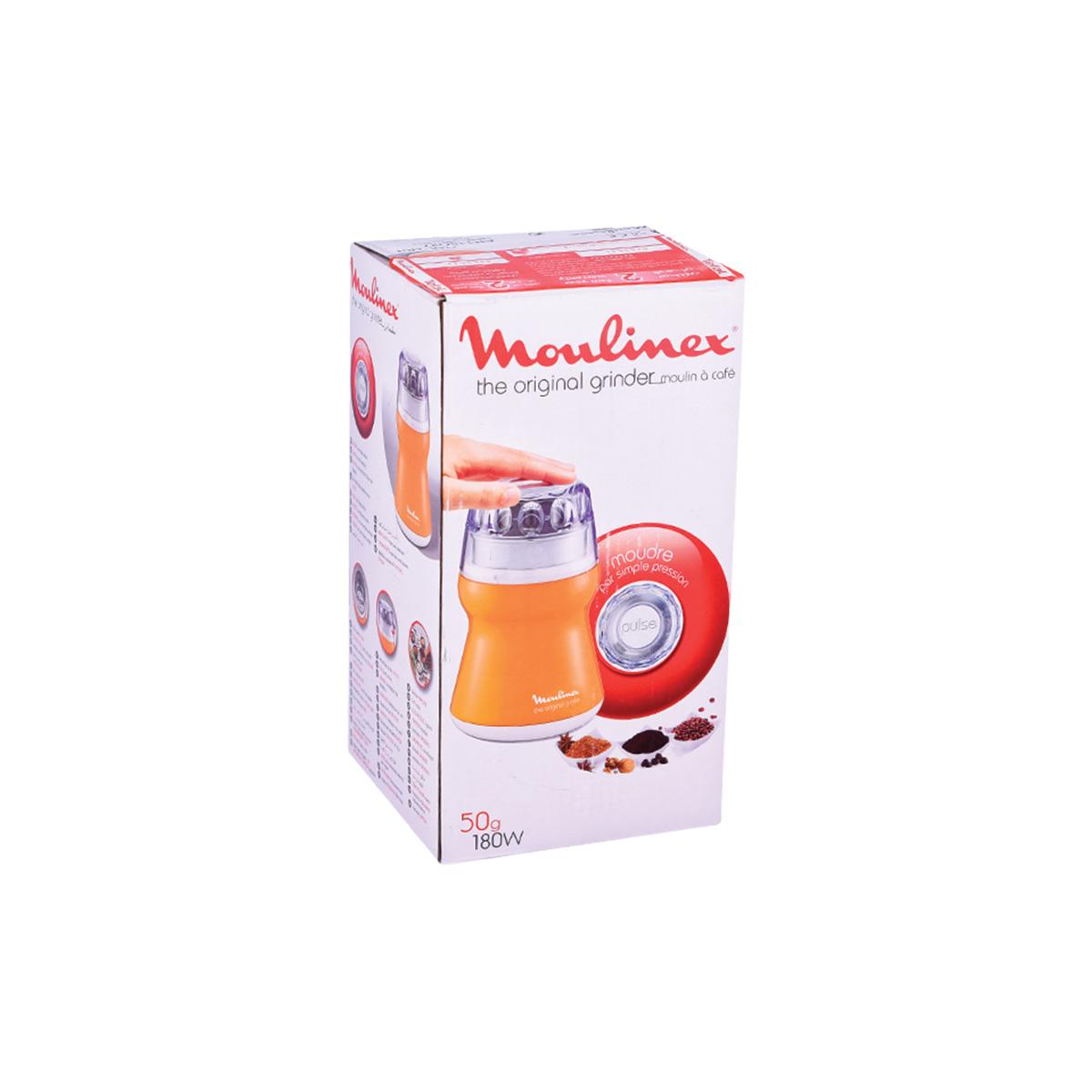 طحانة قهوة مولينكس 50 جرام - 180 واط