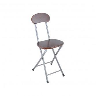 كرسي خشب بني,قابل لطى ,رقم YM-21019
